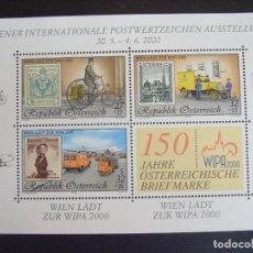 Sellos: AUSTRIA Nº YVERT HB 18*** AÑO 2000. EXPOSICION FILATELICA INTERNACIONAL WIPA 2000. Lote 198136610