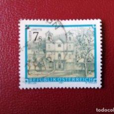 Selos: AUSTRIA - VALOR FACIAL 7 S - AÑO 1987 - MONASTERIO DE LORETO - YV 1723. Lote 198165533