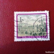 Selos: AUSTRIA - VALOR FACIAL 1 S - AÑO 1989 - ABADIA DE WETTINGEN MEHRERAU - YV 1796 . Lote 198165743
