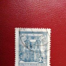 Selos: AUSTRIA - VALOR FACIAL 2 S - AÑO 1957 - ARQUITECTURA: CHRISTKINOL - YV 873 A. Lote 198166671