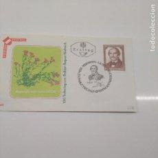 Sellos: FIRST DAY 1-6-1971 WIEN AUGUSTE NEILREICH BOTANICO Y JURISTA CIENCIAS. Lote 198849910