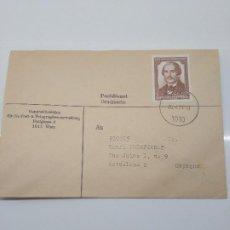 Sellos: SOBRE CIRCULADO A BARCELONA 26-4-1973 WIEN AUGUSTE NEILREICH BOTANICO Y JURISTA CIENCIAS. Lote 198850115
