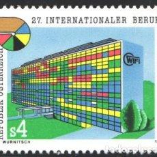 Sellos: AUSTRIA, 1983 YVERT Nº 1576 /**/, 27º CONCURSO INTERNACIONAL DE PROFESIONES. Lote 199225135