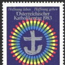 Sellos: AUSTRIA, 1983 YVERT Nº 1579 /**/, DIA CATOLICO, . Lote 199225290