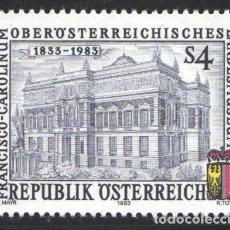 Sellos: AUSTRIA, 1983 YVERT Nº 1587 /**/, MUSEO ESTATAL DE ALTA AUSTRIA FRANCISCO CAROLINUM, LINZ. Lote 199235473