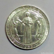 Sellos: AUSTRIA, 1955. MONEDA DE PLATA DE 25 SCHILLING. LOTE 2517. Lote 199638207