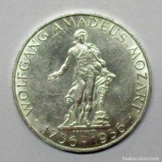 Sellos: AUSTRIA, 1956. MONEDA DE PLATA DE 25 SCHILLING. LOTE 2527. Lote 199648928
