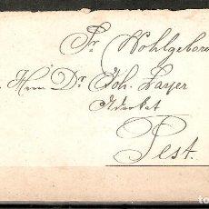 Sellos: AUSTRIA.1871. LEOPOLDSTADT WIEN-PEST.. Lote 199660756