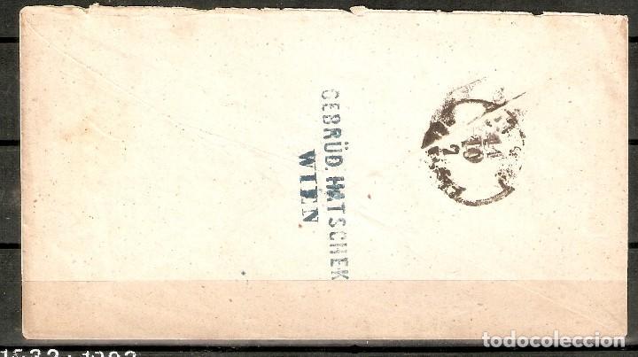Sellos: AUSTRIA.1871. LEOPOLDSTADT WIEN-PEST. - Foto 2 - 199660756