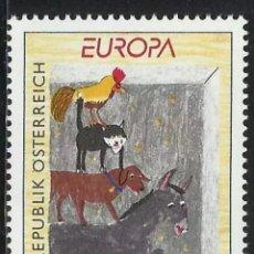 Sellos: AUSTRIA, MNH, CUENTOS Y LEYENDAS, EUROPA CEPT 1997 (FOTOGRAFÍA REAL). Lote 202619950
