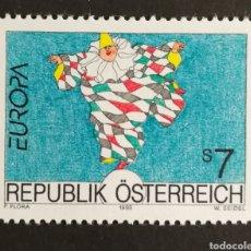 Sellos: AUSTRIA, EUROPA CEPT 1993 MNH, ARTE CONTEMPORÁNEO (FOTOGRAFÍA REAL). Lote 203267018
