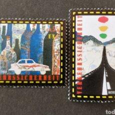 Sellos: NACIONES UNIDAS (VIENA) N°947/48 MNH (FOTOGRAFÍA REAL). Lote 204674297