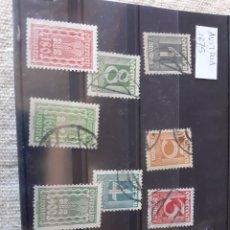 Sellos: AUSTRUA 1875 SELLOS USADOS. Lote 205475285