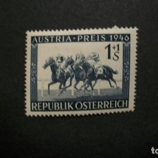 Sellos: /26.05/-AUSTRIA-1946-1 S.+1 S. Y&T 651 EN NUEVO CON CHARNELA(**MLH). Lote 205849057