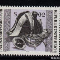 Sellos: AUSTRIA 1365** - AÑO 1976 - DIA DEL SELLO. Lote 206147287