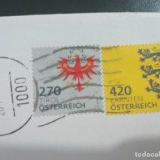 Sellos: SELLOS DE AUSTRIA. HERALDICA. Lote 206493042