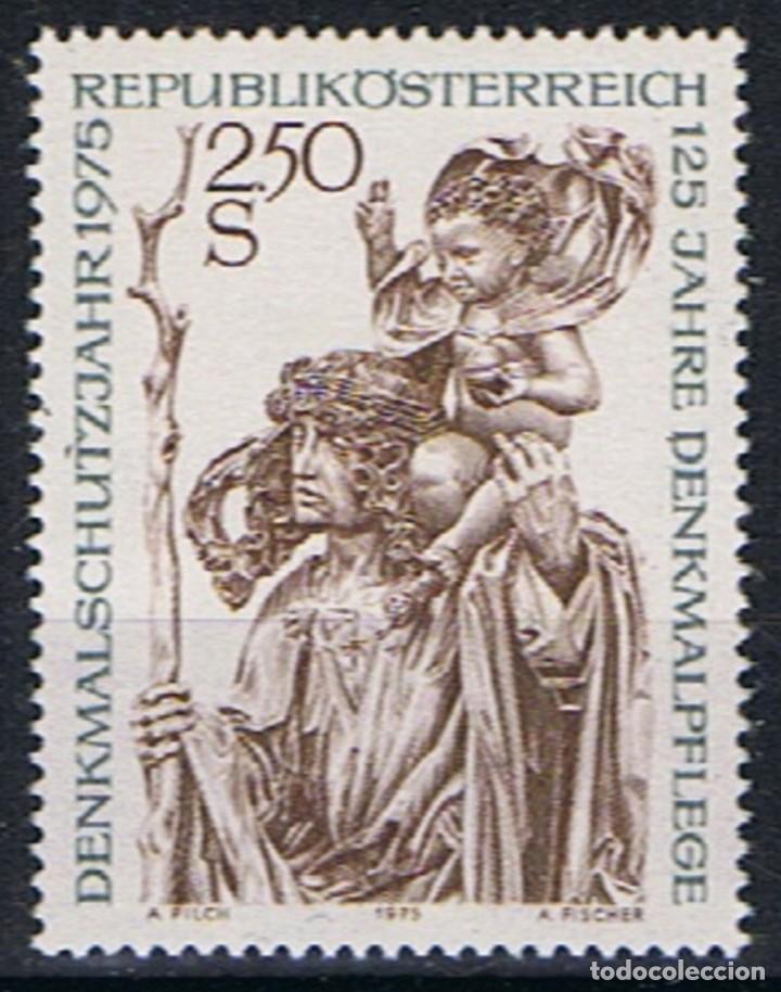 AUSTRIA 1975 - RESTAURACION DE MONUMENTO - YVERT Nº 1307** (Sellos - Extranjero - Europa - Austria)