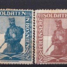 "Sellos: ""F-EX17536 AUSTRIA GERMANY CIRCA WWI CINDERELLA STAMPS LOT KAISER GUILLERMO"". Lote 209269471"