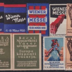 "Sellos: ""F-EX17549 AUSTRIA 1923-23 CINDERELLA WIEN FAIR STAMPS LOT"". Lote 209269486"