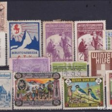 "Sellos: ""F-EX17546 AUSTRIA GERMANY CIRCA WWI CINDERELLA STAMPS LOT"". Lote 209269527"