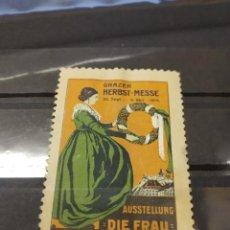 Sellos: ALEMANIA AUSTRIA VIÑETA PRIMERA GUERRA MUNDIAL WWI.. Lote 210462950