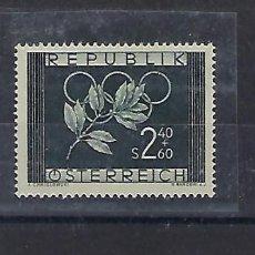 Sellos: AUSTRIA AÑO 1952. JUEGOS OLÍMPICOS DE OSLO-HELSINKI.. Lote 210976491