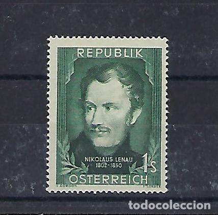 AUSTRIA. AÑO 1952. POETA NIKOLAUS LENAU. (Sellos - Extranjero - Europa - Austria)