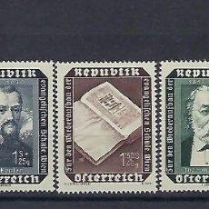 Sellos: AUSTRIA. AÑO 1953. ESCUELA EVANGÉLICA DE VIENA.. Lote 210979057