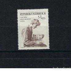 Sellos: AUSTRIA. AÑO 1955.DÍA DEL SELLO.. Lote 211592304