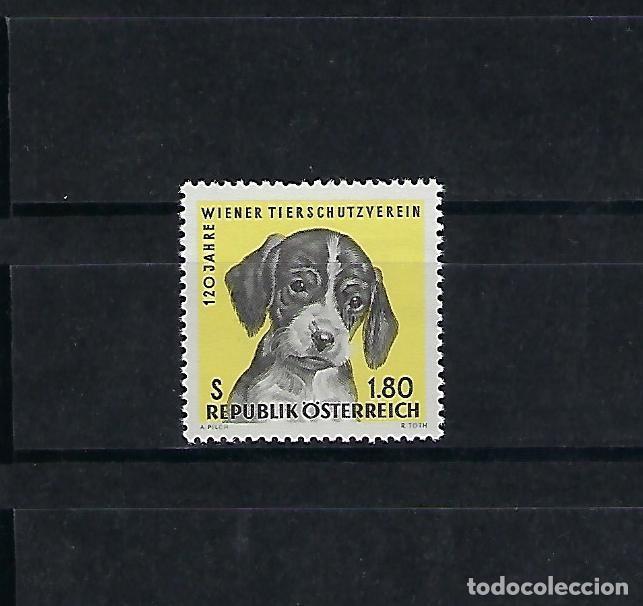 AUSTRIA. AÑO 1966.SOCIEDAD PROTECTORA DE ANIMALES DE VIANA.. (Sellos - Extranjero - Europa - Austria)