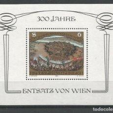Sellos: SELLOS DE AUSTRIA AÑO 1983. HOJA BLOQUE Nº 11 CATÁLOGO YVERT NUEVA. Lote 211605170