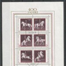 Sellos: SELLOS DE AUSTRIA AÑO 1972. HOJA BLOQUE Nº 7 CATÁLOGO YVERT USADA. Lote 211611431