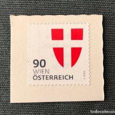 Timbres: SELLO NUEVO DE AUSTRIA SOBRE FRAGMENTO (ESCUDO). Lote 211946022
