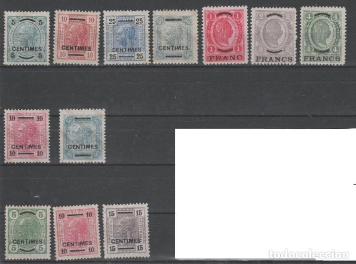 AUSTRIA CORREO CRETA,AÑOS 1903 A 1907. 12 VALORES. (Sellos - Extranjero - Europa - Austria)