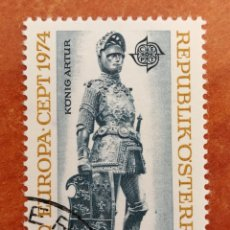Sellos: AUSTRIA, EUROPA CEPT 1974 USADO (FOTOGRAFÍA REAL). Lote 213330836