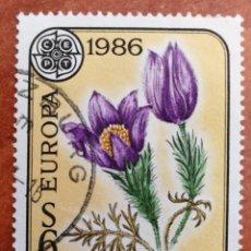 Sellos: AUSTRIA, EUROPA CEPT 1986 USADA (FOTOGRAFÍA REAL). Lote 213706928