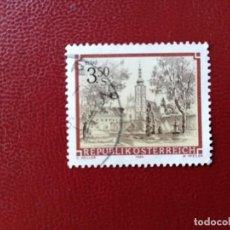 Selos: AUSTRIA - VALOR FACIAL 3.50 S - AÑO 1984 - ARQUITECTURA: ABADIA DE GERAS - YV 1596. Lote 216419503