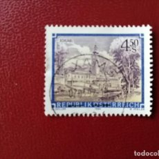 Selos: AUSTRIA - VALOR FACIAL 4.50 S - AÑO 1984 - ARQUITECTURA: ABADIA DE SCHLAGL - YV 1607. Lote 216419617