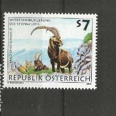 Sellos: AUSTRIA YVERT NUM. 2133 ** SERIE COMPLETA SIN FIJASELLOS. Lote 278320938