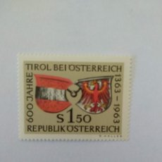Sellos: SELLOS DE AUSTRIA NUEVOS YVERT Nº 971. Lote 217443566