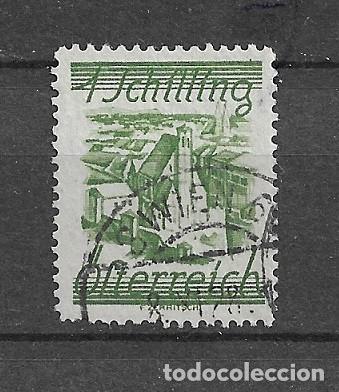 AUSTRIA,1925-27,SERIE GENERAL, YVERT 349,USADO (Sellos - Extranjero - Europa - Austria)