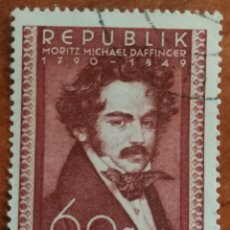 Sellos: AUSTRIA, N°784 USADO, PERSONAJES 1949 (FOTOGRAFÍA REAL). Lote 218133891