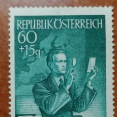 Sellos: AUSTRIA, N°792 MH, AÑO 1950 (FOTOGRAFÍA REAL). Lote 218139833