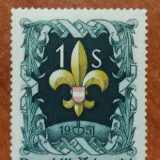 Sellos: AUSTRIA, N°800 MNH, AÑO 1951 (FOTOGRAFÍA REAL). Lote 218140997