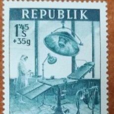 Sellos: AUSTRIA, N°835 MH, AÑO 1954 (FOTOGRAFÍA REAL). Lote 218149491
