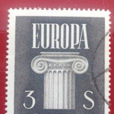 Sellos: AUSTRIA, EUROPA CEPT, 196O USADO (FOTOGRAFÍA REAL). Lote 218291427