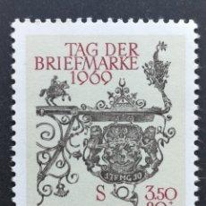 Sellos: AUSTRIA, ESCUDO HERÁLDICO 1969 MNH (FOTOGRAFÍA REAL). Lote 218293435