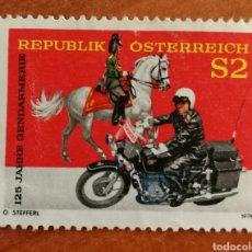 Sellos: AUSTRIA, N°1284 MNH, POLICÍA AUSTRIACA 1974 (FOTOGRAFÍA REAL). Lote 218352781