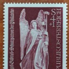 Sellos: AUSTRIA N°1263 MNH, DÍA DEL SELLO, ARCANGEL SAN GRABIEL(FOTOGRAFÍA REAL). Lote 218353927