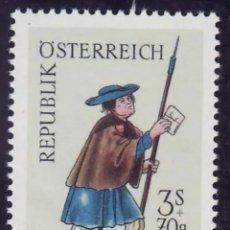 Sellos: AUSTRIA, N°1064 MNH, MENSAJERO DE 1500 (FOTOGRAFÍA REAL). Lote 218354875